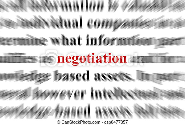 Negotiation - csp0477357