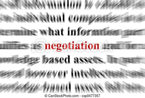 Negotiation - csp0477357