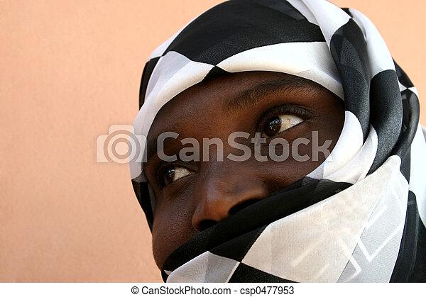 africano musulmán