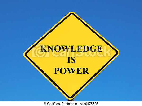 Knowledge is Power - csp0478825