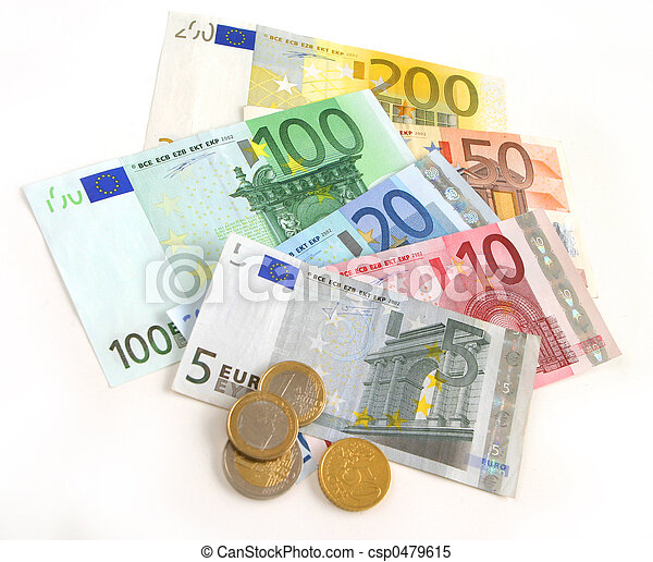 euro currency - csp0479615