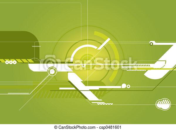 Techno Background - csp0481601