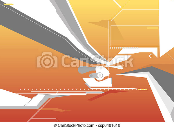 Techno Background - csp0481610