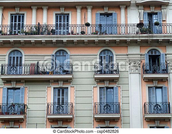 Residential building - csp0482826