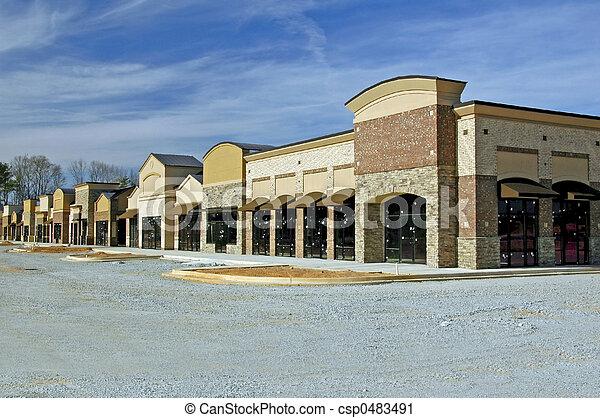 Shopping Center  - csp0483491