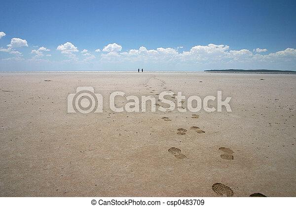 Salt lake trek - csp0483709