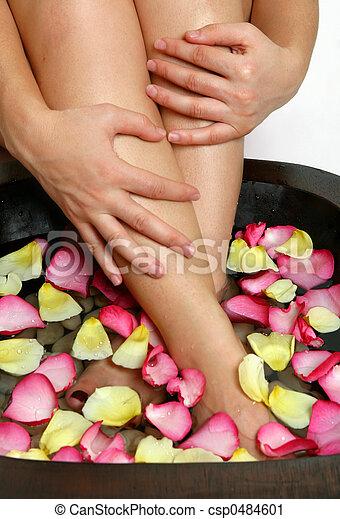 Bliss for tired feet - csp0484601