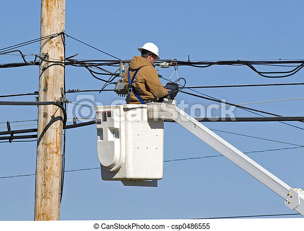 Technician working 1Technician working 2 - csp0486555