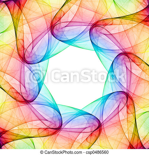 Fractal kaleidoscope - csp0486560