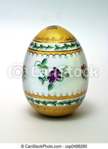 イースター, 卵 - csp0488280