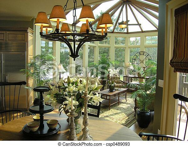 Luxury 31 sun room