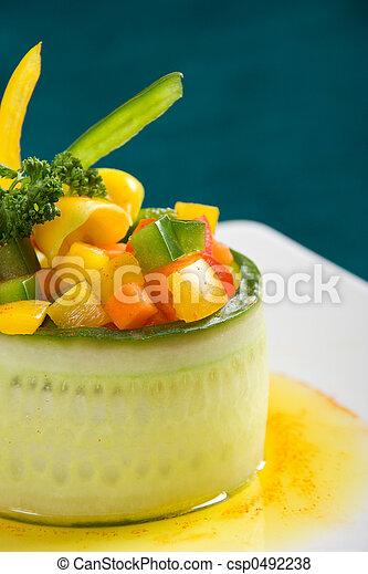 Vegetarian starter - csp0492238