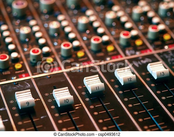 Mixing console - csp0493612