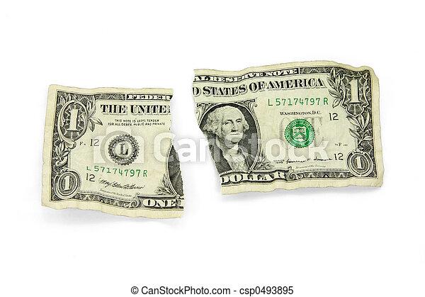 ripped usa dollar - csp0493895