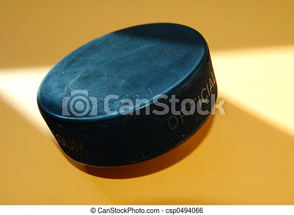 Official Hockey Puck - csp0494066
