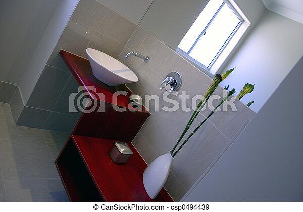 feng shui bathroom - csp0494439