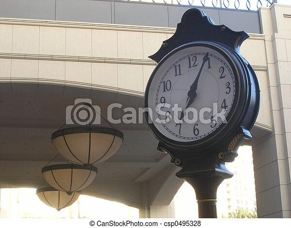 Clock Landmark 2 - csp0495328