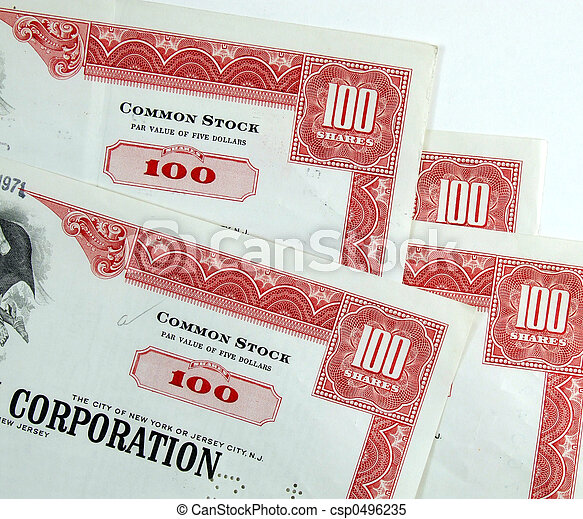 Corporation common stock shares - csp0496235
