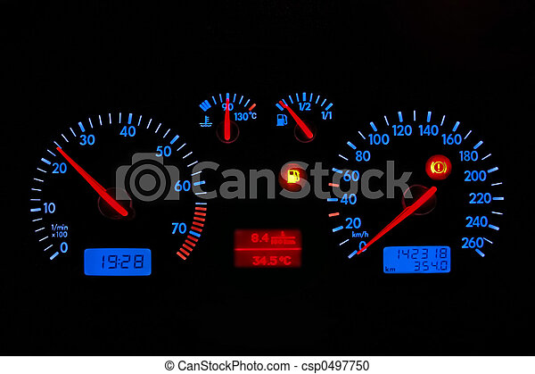 car dashboard - csp0497750