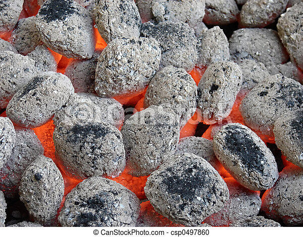 Photographies de charbon de bois briquettes barbeque - Briquette de charbon ...
