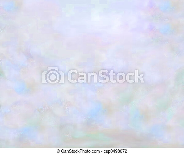 pastel, Cielos - csp0498072