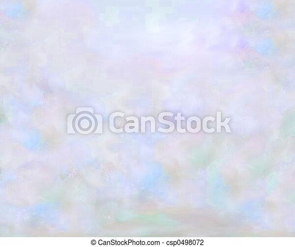 pastel, cieux - csp0498072