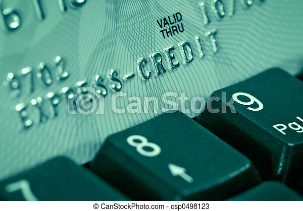 Credit card verification - csp0498123