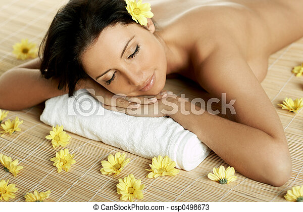 Spa Relaxing - csp0498673