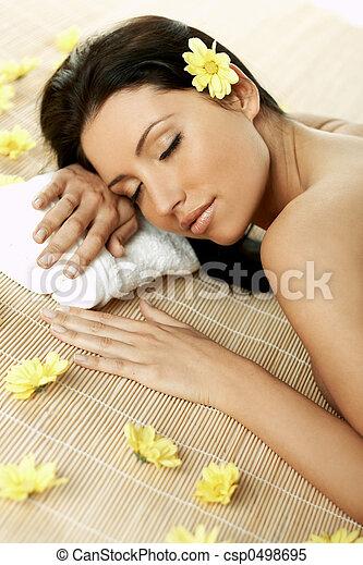 Spa Relaxing - csp0498695
