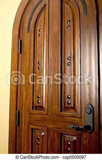 caoba, puerta - csp0500097