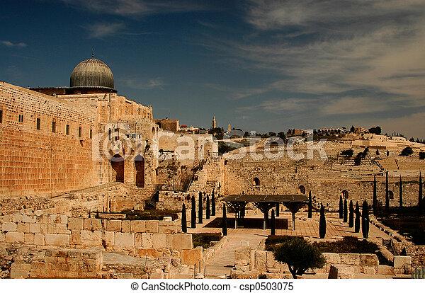 Jerusalem - csp0503075