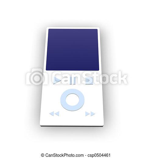 MP3 Player 1 - csp0504461