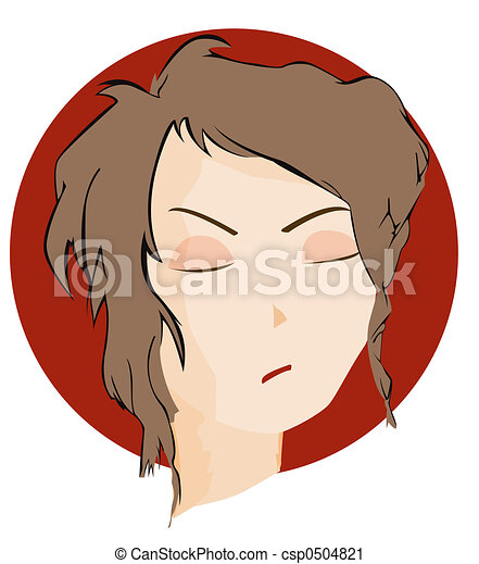 Expressions Icon: Angry - csp0504821
