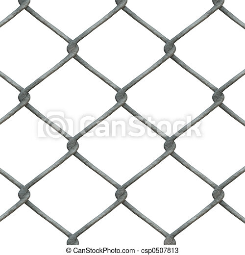 chain link fence - csp0507813