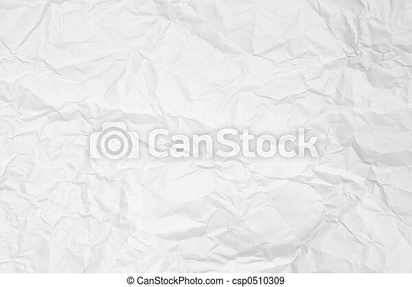 wrinkled paper - csp0510309