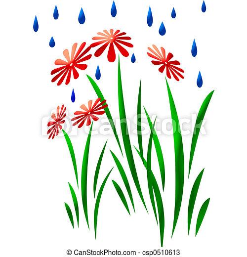 dessins de art jardin pluie art abstrait pluie tomber sur csp0510613 recherchez des. Black Bedroom Furniture Sets. Home Design Ideas
