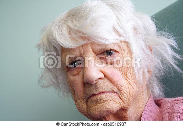 Senior citizen  - csp0510937