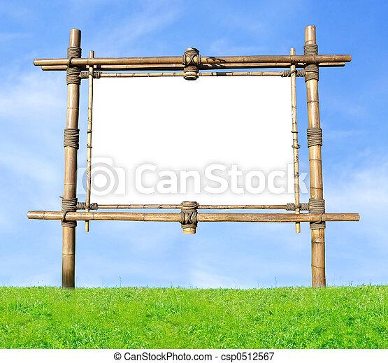 Bamboo Billboard - csp0512567