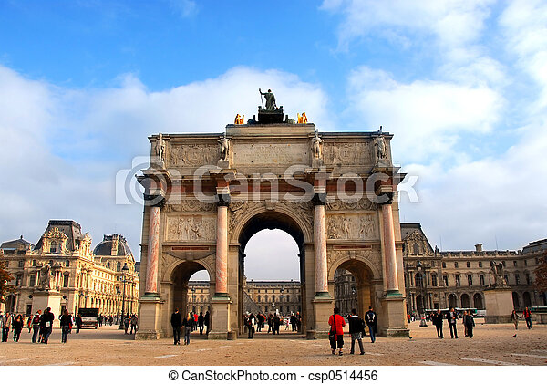 Paris France - csp0514456