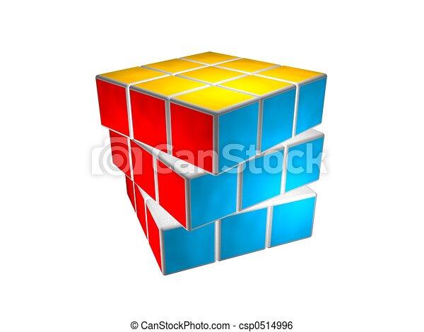 Cube puzzle solved - csp0514996
