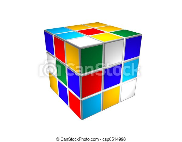 Cube puzzle unsolved - csp0514998