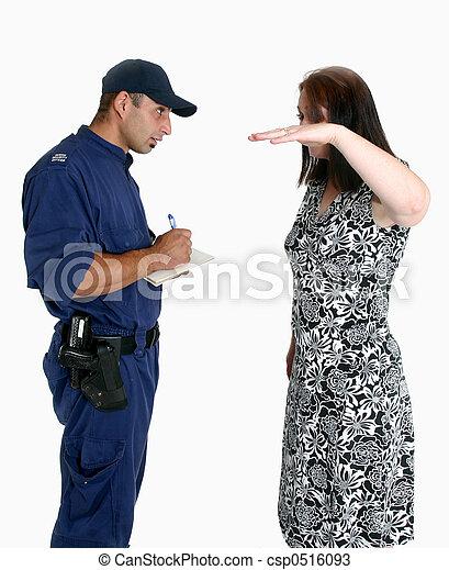 Security Guard and victim - csp0516093