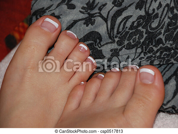 Painted Toes - csp0517813