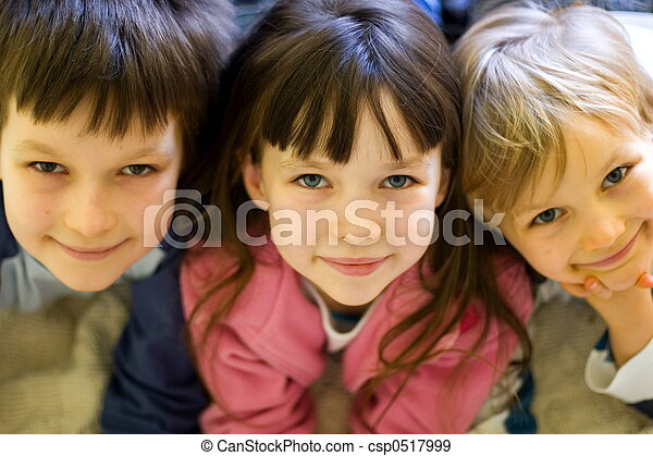 Royalty Stock Images happy children stock
