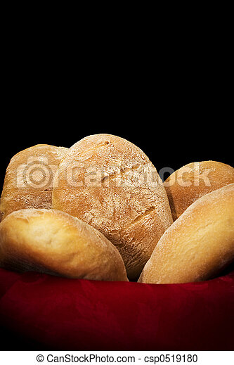 Home-made bread - csp0519180