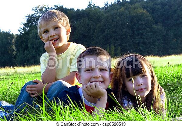 happy children - csp0520513