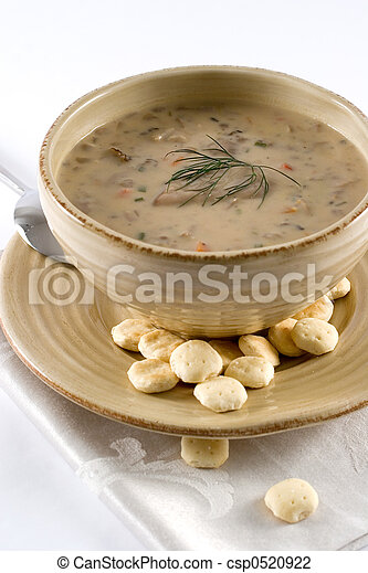 Mushroom soup - csp0520922