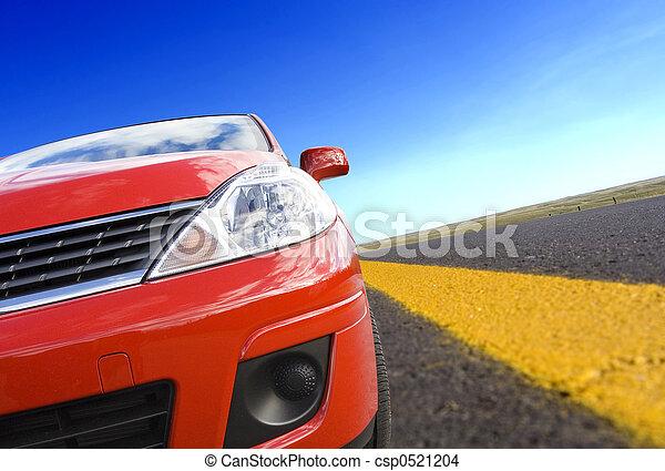 自動車, 旅行 - csp0521204