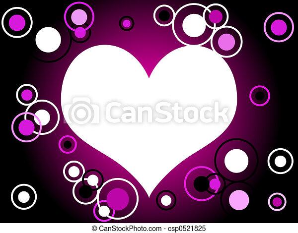Retro heart - csp0521825