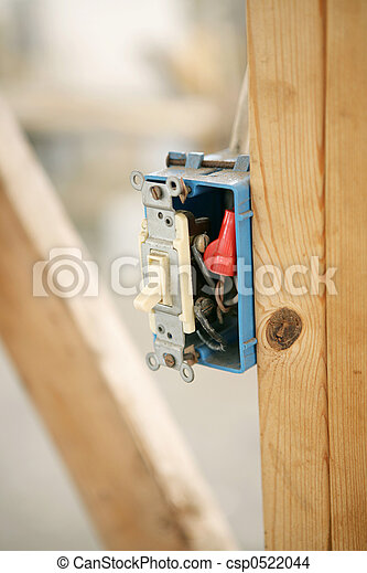 Electrical Switch Closeup - csp0522044
